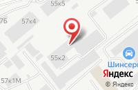 Схема проезда до компании ВторСплав в Санкт-Петербурге