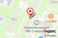 Схема проезда до компании Балтснаб в Санкт-Петербурге