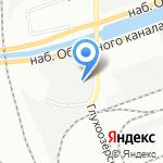 Реал Строй Сервис на карте Санкт-Петербурга