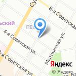 Михайловское Литейное Производство на карте Санкт-Петербурга