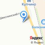РемШина на карте Санкт-Петербурга