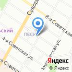 Экотрейд на карте Санкт-Петербурга