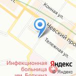 Жилищный фонд на карте Санкт-Петербурга