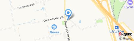 Organza на карте Санкт-Петербурга