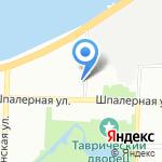 Shefov на карте Санкт-Петербурга