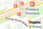 Схема проезда до компании Воентошка в