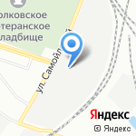 100БАР на карте Санкт-Петербурга