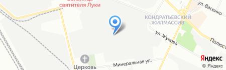 Промышленный литейный комплекс на карте Санкт-Петербурга