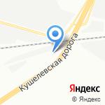 Авто Гамма на карте Санкт-Петербурга