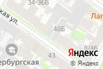 Схема проезда до компании Центр Развития Строительства в Санкт-Петербурге