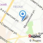 Центр Развития Строительства на карте Санкт-Петербурга