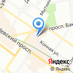 Нотариус Бабенко Л.Г. на карте Санкт-Петербурга