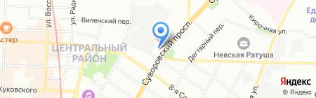 Детский сад №71 на карте Санкт-Петербурга