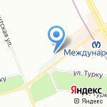 Юнион Финанс на карте Санкт-Петербурга