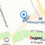 Компания МУСТАНГ на карте Санкт-Петербурга