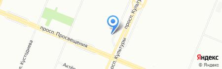 Пятёрочка на карте Санкт-Петербурга