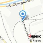 Балтресурс на карте Санкт-Петербурга