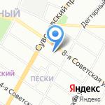 Служба Ремонта Помещений №1 на карте Санкт-Петербурга