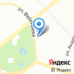 Практика на карте Санкт-Петербурга