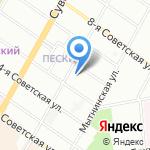 Рублевъ на карте Санкт-Петербурга