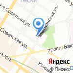 Аллюрия на карте Санкт-Петербурга