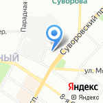 Банк Зенит на карте Санкт-Петербурга