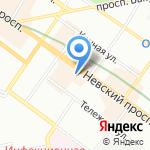Cerruti на карте Санкт-Петербурга