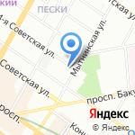 Стоматологическая поликлиника №38 на карте Санкт-Петербурга