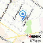 Holodilnikovo на карте Санкт-Петербурга