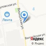 Магазин сантехники и строительного инструмента на карте Санкт-Петербурга