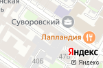 Схема проезда до компании Равена в Санкт-Петербурге