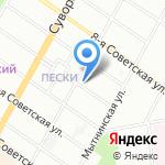 ЛДЦМИБС на карте Санкт-Петербурга
