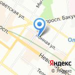 Hostel-York на карте Санкт-Петербурга