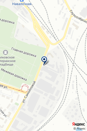 ПО РУБЕЖ И ТА на карте Санкт-Петербурга