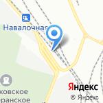 Негоциант на карте Санкт-Петербурга