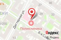 Схема проезда до компании Пролоджи в Санкт-Петербурге