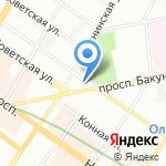 Дар на карте Санкт-Петербурга