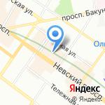 Comme des Garcons на карте Санкт-Петербурга