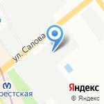 Служба ремонта автомагнитол на карте Санкт-Петербурга
