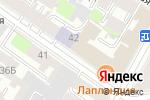 Схема проезда до компании Паритет в Санкт-Петербурге