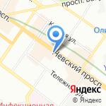 Bonpoint на карте Санкт-Петербурга