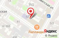 Схема проезда до компании Пять Элементов в Санкт-Петербурге