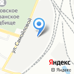 Центр защиты и безопасности на карте Санкт-Петербурга