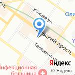 Альфамед-СТ на карте Санкт-Петербурга