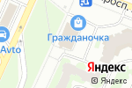 Схема проезда до компании Меланж в Санкт-Петербурге