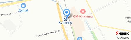 Пулково-Сервис на карте Санкт-Петербурга
