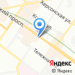 Как дома на карте Санкт-Петербурга