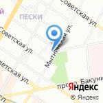 Stickme.ru на карте Санкт-Петербурга