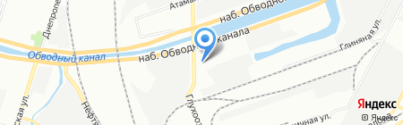 Д.Крафт на карте Санкт-Петербурга