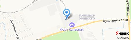 Дом Автотранс на карте Санкт-Петербурга